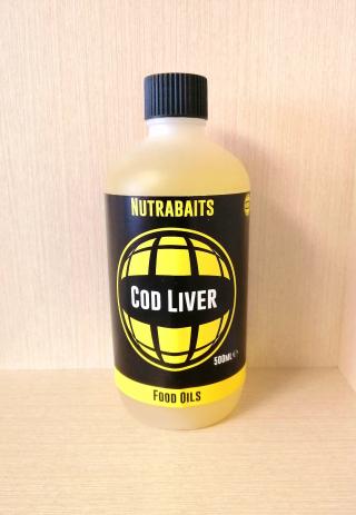 """Масло печени трески """"Cod Liver Oil"""" 500 мл. Nutrabaits"""