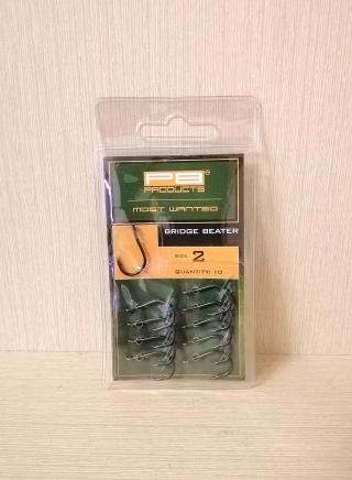 "Крючок ""Bridge Beater Hook DBF"" 10 шт  PB Products."
