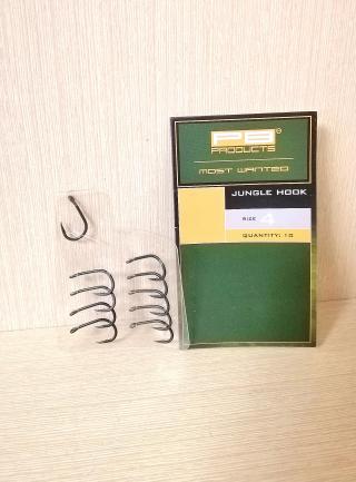 """Крючок """"Jungle Hook DBF"""" 10 шт  PB Products."""