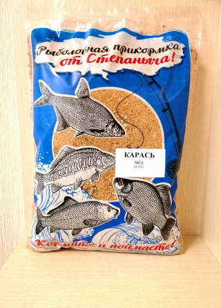 "Прикормка Карась Мед 1 кг. ""От Степаныча""."