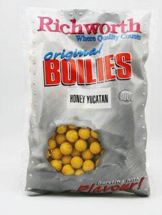 Бойлы Richworth Original Honey Yucatan 14мм 150gr