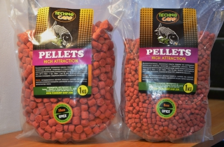 "Flavored Carp Pellets ""Spice"" 1кг Технокарп"