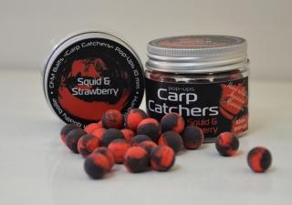 Бойли pop-up Carp Catchers «Squid&Strawberry» 10mm