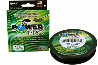 Шнур Power Pro (moss green) зеленый 135m