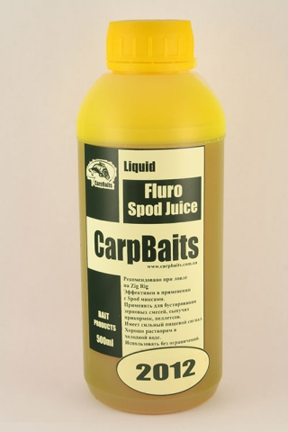 Fluoro Spod Juice 2012 Carpbaits