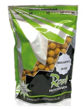 Бойлы Rod Hutchinson Megaspice / Natural Ultimate Spice Blend 20mm 1kg
