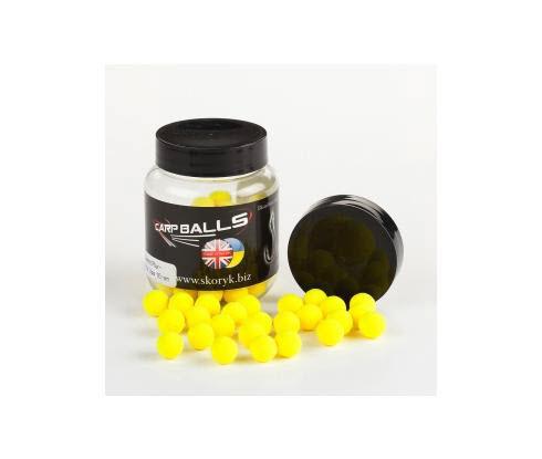 Бойлы Pop Ups 10mm 15шт Pineapple&Buturic Acid CARPBALLS