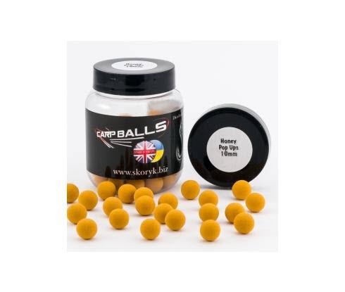 Бойлы Pop Ups 10mm 15шт Honey CARPBALLS