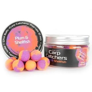 Бойлы pop-up Carp Catchers «Plum&Shellfish» 14mm
