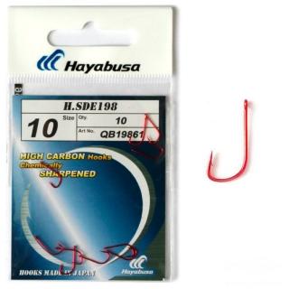 Крючки Hayabusa H.SDE 198 красные