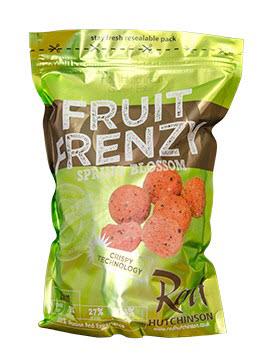 Бойлы Rod Hutchinson  Fruit Frenzy And Spring Blossom Boilies