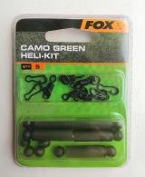 Клипса для вертолетной оснастки Camo Green Heli-Kit FOX