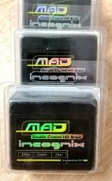 """Поводковый материал Incognix Double Coated HD Braid """"MAD""""25m,15&25lb"""