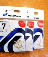 Крючок Hayabusa H.SDE 198 жёлтый