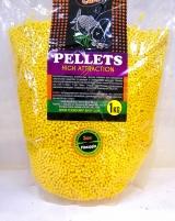 """Flavored Carp Pellets """"Pineapple"""" 1кг. Технокарп"""