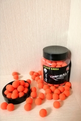 Бойлы Pop-Ups Острый Криль(Tangy Krill)10mm CARPBALLS