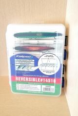 """Коробка двусторонняя  """"Reversible 14510"""" 206 x 175 x 44 мм  Kalipso"""