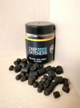 """Насадочный Палтусовый пеллетс """"Black-Halibut"""" 8мм-14мм 150 грамм. Carp Catchers."""