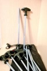 """Набор металлических колышков для палатки """" Bivvy Peg Set"""" 25 см. 10 шт. Carp Zoom"""