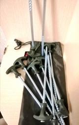 """Набор металлических колышков для палатки """" Bivvy Peg Set"""" 20 см. 10 шт. Carp Zoom"""