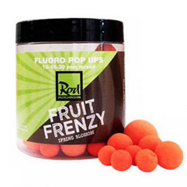 Бойлы Pop AP  Rod Hutchinson Orange Fruit Frenzy 10 - 15 - 20 mm 100gr