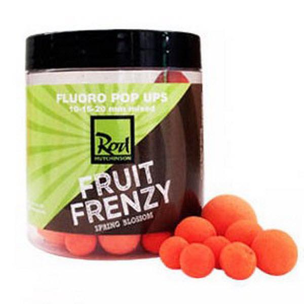 Бойлы Pop UPS  Rod Hutchinson Orange Fruit Frenzy 10 - 15 - 20 mm 100gr