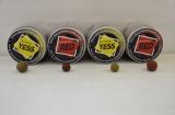Бойлы вареные насадочные Carp Catchers серии Impulse. RED 14 mm-18mm