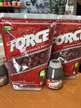 Бойлы Rod Hutchinson Force food Bait Boilie 1кг