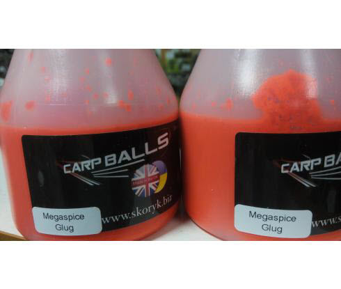 Дип CARPBALLS Fluoro Glugs 150ml Megaspice