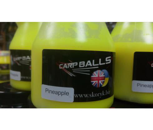 Дип CARPBALLS Fluoro Glugs 150ml Pineapple