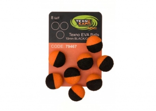 Texno EVA Balls  black/orange уп/8шт Технокарп
